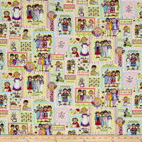 Church Ladies Patchwork Ecru