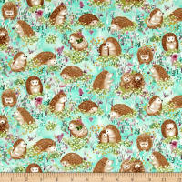 Hedgehog Village Hedgehogs Turquoise