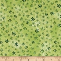Hedgehog Village Paw Tracks Green