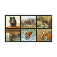 "Kaufman Nature Studies America 23.5"" Panel Nature"
