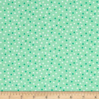 Kaufman Remix Mini Dots Mint