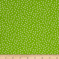 Kaufman Remix Mini Dots Lime