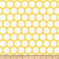 Kaufman Spot On Geo Dot Yellow