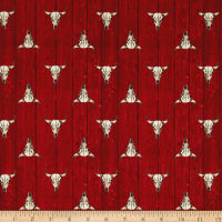 Ranch Hands Longhorn Red