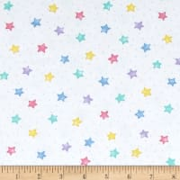 Comfy  Flannel Stars Pastel