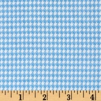 Combine into sku FT-568/Comfy  Flannel Houndstooth Blue