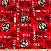 NCAA Ohio State Buckeyes Fleece Digital