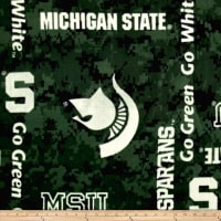 Collegiate Fleece Michigan State Digital