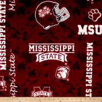 NCAA Mississippi State Bulldogs Fleece Digital