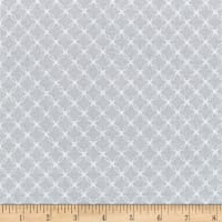 "108"" Wide Quilt Back Lattice Grey"