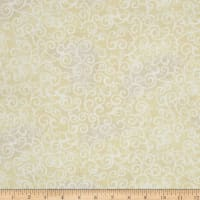 "Quilting Treasures 108"" Wide Quilt Back Ombre Scroll Ecru"