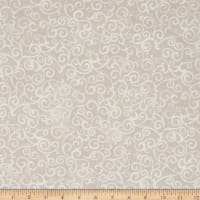 "Quilting Treasures 108"" Wide Quilt Back Ombre Scroll Crystal"