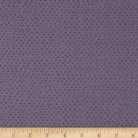 Pixie Square Dot Dusty Purple