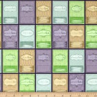 QT Fabrics Tea-RRIFIC Tea Packets Set Purple