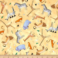 The Migration Animal Toss Creamsicle