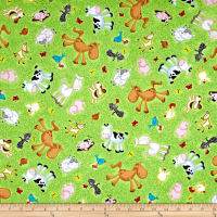 Animal Farm Animal Toss Light Green
