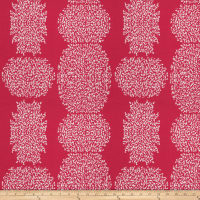 Kendall Wilkinson Beaded Batik Outdoor Raspberry