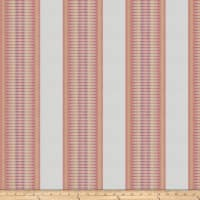 Kendall Wilkinson Sunbrella Indoor/Outdoor Jacquard Sunset Stripe Glow