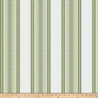Kendall Wilkinson Sunbrella Indoor/Outdoor Jacquard Sunset Stripe Grass