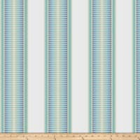 Kendall Wilkinson Sunbrella Indoor/Outdoor Jacquard Sunset Stripe Tropical Sky