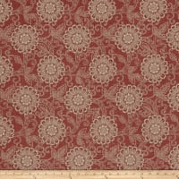 French General Tournesal Linen Rouge