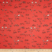 Birch Organic Camp Sur 3 Interlock Knit Quail Run Coral