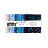 "Timeless Treasures Tonga Batik Riviera 5"" Squares"