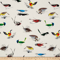 Birch Organic Charley Harper Western Birds Main Cream