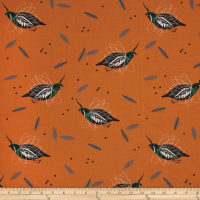 Birch Organic Charley Harper Western Birds Mountain Quail Multi