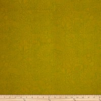 Alison Glass Seventy Six Stitched Chartreuse Light Green