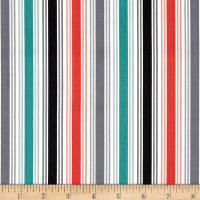 Papillon Multi Stripe Grey