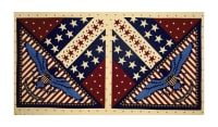 "Patriotic 2017 United 23"" Panel Multi"
