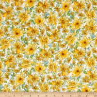 Kaufman Garden Splendor Medium Flower Yellow