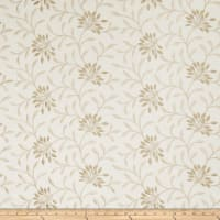 Fabricut Elmley Embroidered Linen Blend Sesame
