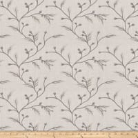 Fabricut Juma Embroidered Faux Linen Dawn