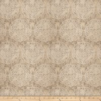 Fabricut Locke Damask Jacquard Quarry