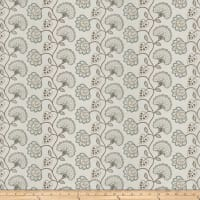 Fabricut Prudence Floral Robins Egg