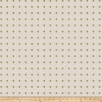 Fabricut Studded Squares Linen Bling