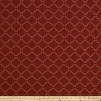 Jaclyn Smith 01844 Crinkled Jacquard Crimson