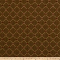 Jaclyn Smith 01844 Crinkled Jacquard Pecan