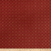 Jaclyn Smith 02104 Chenille Cardinal