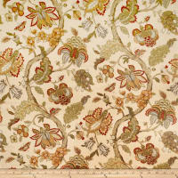 Jaclyn Smith 02116 Linen Blend Garden Spice