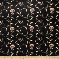 Trend 02242 Embroidered Taffeta Black
