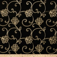 Trend 02438 Faux Silk Black