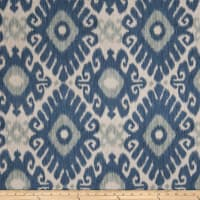Jaclyn Smith 02606 Linen Blend Indigo