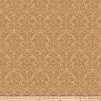 Trend 03483 Satin Jacquard Damask Gold