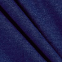 Fabric Merchants Cotton Lycra Spandex Jersey Knit Blue Denim