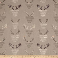 Art Gallery Blithe Linen/Cotton Eternal Nature Grey