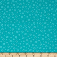 Frogland Friends Bubble Dot Teal/Aqua
