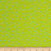 Frogland Friends Bubble Dot Lime Green